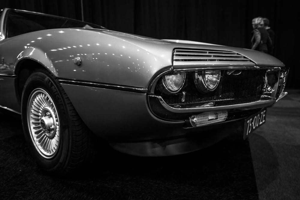 Sports car Alfa Romeo Montreal